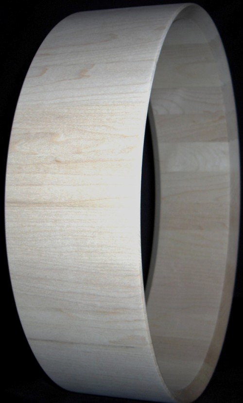 Quarter Cut Maple Stave Shell