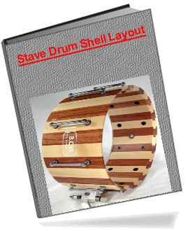 Stave Drum Shell Layout